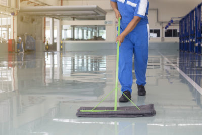 We offer industrial floor sweeping services in Louisville, KY.